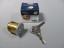 """Kaba Ilco 7206SC1-26D-KD Brass Mortise Cylinder 1-1/4"""" Length / Key Included"""