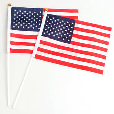 2pcs 14x21cm US American Small Flag Best Valley Forge US American Flag