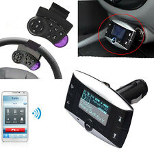 FM Transmitter  SD Bluetooth  Car MP3 Player  Wireless Steering Wheel Control