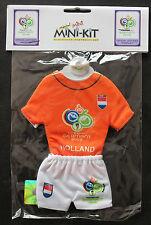 Fußball Football MINIATURE TRIKOT JERSEY WM WC 2006 TEAM NIEDERLANDE HOLLAND