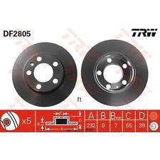 Disque de frein, 1 unités trw df2805
