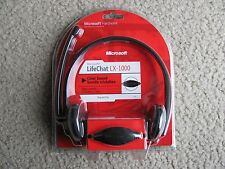New Microsoft lifeChat LX-1000 Clear Sound & Simple Solutions Headset JTD-0