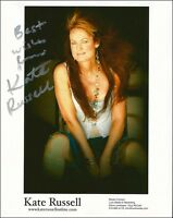 KATE RUSSELL COUNTRY AND WESTERN SINGER HAND SIGNED AUTOGRAPH 10X8 PHOTO INC COA