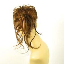 postiche chouchou peruk cheveux chocolat méché cuivré clair ref: 22 en 627c