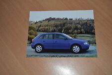 PHOTO DE PRESSE ( PRESS PHOTO ) Audi A3 de 1999 AU267