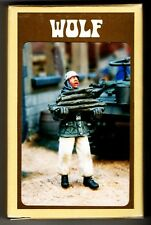 WOLF HORNET MODELS WSH 39 - WW2 GERMAN PARATROOPER w/WINTER FIREWOOD 1/35 RESIN
