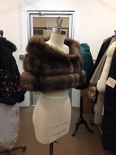 MOST EXQUISITE RUSSIAN SABLE BOLERO SHRUG JACKET ON EBAY MAXIMILIAN VINTAGE WOW