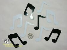 Wedding Table Scatters Confetti Music Notes Large Black & White