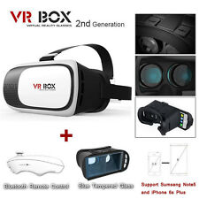 Google Cardboard VR BOX Virtual Reality 2nd Gen 3D Glasses v Bluetooth Control