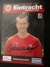 21032 Braunsdorf Eintracht Frankfurt 09-10 original signierte Autogrammkarte