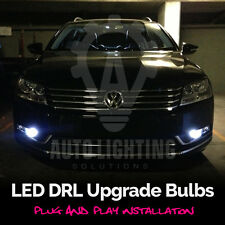 2x VW Passat B7 2010-2014 DRL LED Xenon White Canbus Error Free Lights Bulbs