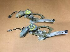 Ford Sierra/sapphire O/S Rear  Door Window Motor With Loom Connections
