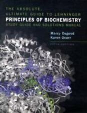 Lehninger Principles of Biochemistry Study Guide Solutions Manual 5th Edition