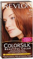Revlon ColorSilk Hair Color 55 Light Reddish Brown 1 Each (Pack of 5)