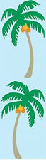 Mrs. Grossman's Stickers - Palm Tree - Exotic Palm Tree with Coconuts - 4 Strips
