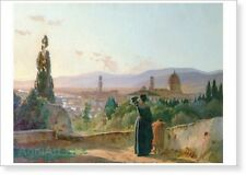 "Florence, by Nikolay Ghe. Fine art print NEW 28"" x 20"""