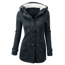 Women's Warm Coat Jacket Tops Outwear Trench Winter Hooded Long Parka Overcoat
