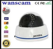 INDOOR WIFI 720P HD IP CAMERA ALARM SECURITY SYSTEM CCTV DOME ONVIF TF CARD P2P
