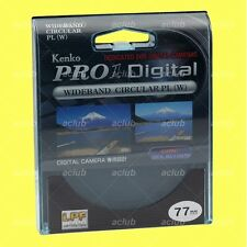 Genuine Kenko 77mm Pro1 D Digital Circular CPL Filter Pro1D CIR C-PL Polarizer