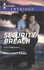 Security Breach (Bayou Bonne Chance), Kane, Mallory, Good Book