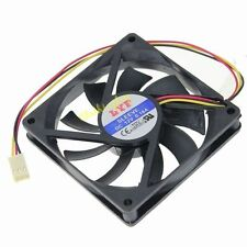 Top LYF DC 12V 3Pin 8CM 80mm 80x15mm 8015s brushless Cooler Cooling PC Fan Mute