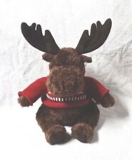 "AMERICAN EAGLE OUTFITTERS 15"" Plush Stuffed Toy Mac MOOSE Red Sweater GUND"