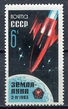 28678) RUSSIA 1963 MNH** Nuovi** Soviet rocket to the moon