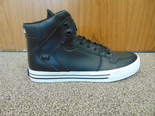 Supra Vaider Black/White Hi Top UK 9 mens trainers new