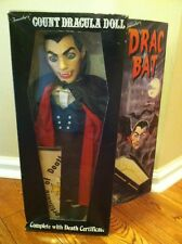 "1985 Travelers Trading Co. Count Vlad Dracula ""Drac bat"" Rare! Look Mib"