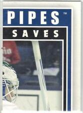 EDDIE LACK CANUCKS 2013-14 ITG BETWEEN THE PIPES HE SHOOTS - HE SAVES #EL3