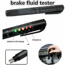 5 LED Brake Fluid Tester Car Vehicle Auto Automotive Diagnostic Testing Tool LX