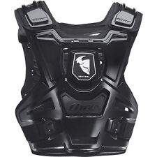 THOR SENTINEL CHEST PROTECTOR BLACK BODY ARMOUR ADULT MOTOCROSS MX ENDURO BMX