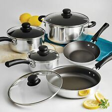 Nonstick 9-Piece Pots And Pans Cookware Set Cooking Set