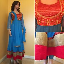 READYMADE, Asian Anarkali Suit.UK SIZE-14 (bust Size-42,length-54)