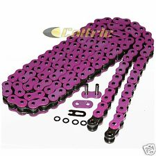520 x 120 Links Motorcycle ATV PINK O-Ring Drive Chain 520-Pitch 120-Links