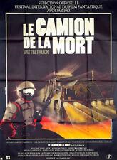 Affiche 120x160cm LE CAMION DE LA MORT /BATTLETRUCK 1983 Michael Beck TBE