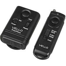 Vello FreeWave Wireless Remote Shutter Release for Nikon w/10-Pin Connection