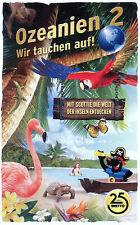 """Netto """"Ozeanien 2 Wir tauchen auf!"""" Album inkl. aller 108 Karten NEU"""