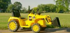 Kids Ride On Tractor Bulldozer Yellow Excavator 6V Battery Powered Toys Vehicles