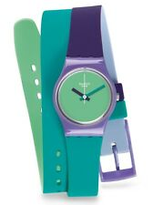 "SWATCH LADY ""FUN IN BLUE"" (LV117) NEUWARE"