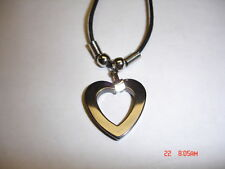 HEART NECKLACE  MADE OF HERMATITE