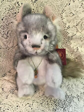 "SNIFFLE THE CHINCHILLA * CHARLIE BEARS 2015 PLUSH COLLECTION * 12"" NEW WITH TAGS"