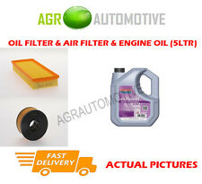 DIESEL OIL AIR FILTER KIT + FS 5W30 OIL FOR FORD MONDEO 2.0 131 BHP 2001-07