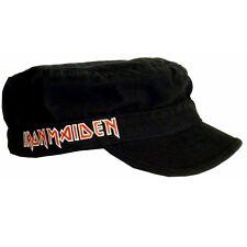Iron Maiden Logo Cadet Cap Hat