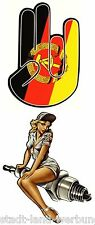 140  Set Pin Up´s Aufkleber/Sticker/Rockabilly/Oldtimer/Tuning/V8/Youngtimer/STP