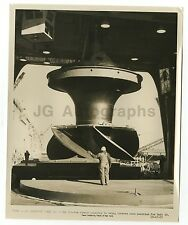 New York Power Authority - Vintage Photo St. Lawrence Power Dam Assembly - 1957