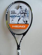 """NEW HEAD Metallix Spark Team Series Tennis RACKET Racquet 4.5"""" Grip Pre-Strung"""