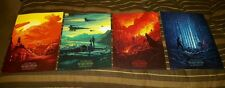 Star Wars The Force Awakens AMC Stubs Promo All 4 Imax Posters 4 of 4 RARE