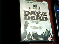 DVD 2-DISC DAY OF THE DEAD [1985] GEORGE A. ROMERO HORROR ZOMBIE GORE 2006 PAL