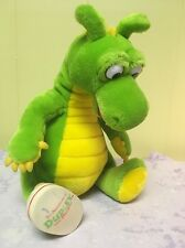 """The Adventures of Dudley the Dragon 11"""" Green Plush Toy - Kids TV Show -"""